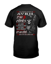 Les Légendes Naissent En Avril Classic T-Shirt tile