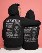 March Hooded Sweatshirt apparel-hooded-sweatshirt-lifestyle-back-134