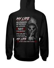 My life Hooded Sweatshirt back