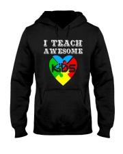 I TEACH AWESOME KIDS AUTISM AWARENESS DAY SHIRT Hooded Sweatshirt thumbnail