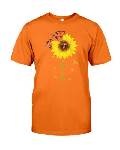 CNA Life Sunflower Tshirt Cute Nurse Gifts