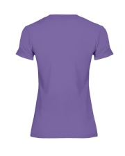 Might as well face it - I'm addicted to yarn Premium Fit Ladies Tee back