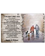 The Day I Met You DD010402MA Customize Name Horizontal Poster tile