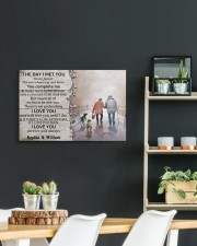The Day I Met You DD010402MA Customize Name 24x16 Gallery Wrapped Canvas Prints aos-canvas-pgw-24x16-lifestyle-front-19