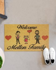 """Metton Family DD123111MA Doormat 28"""" x 17"""" aos-doormat-28-x-17-lifestyle-front-07"""