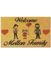 """Metton Family DD123111MA Doormat 28"""" x 17"""" front"""