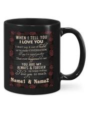 I Love You DD012301MA Customize Name Mug front