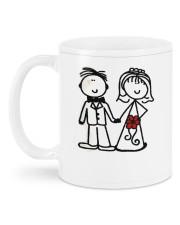 I Love You DD011305DH Customize Name Mug back