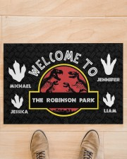 """The Robinson Park DD123108MA Customize Name Doormat 34"""" x 23"""" aos-doormat-34-x-23-lifestyle-front-02"""