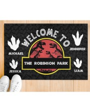 """The Robinson Park DD123108MA Customize Name Doormat 34"""" x 23"""" aos-doormat-34-x-23-lifestyle-front-03"""