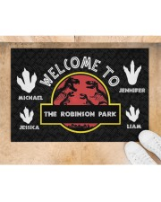 """The Robinson Park DD123108MA Customize Name Doormat 34"""" x 23"""" aos-doormat-34-x-23-lifestyle-front-05"""