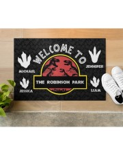 """The Robinson Park DD123108MA Customize Name Doormat 34"""" x 23"""" aos-doormat-34-x-23-lifestyle-front-12"""