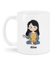 Cat And Coffee DD010603MA Customize Name Mug back