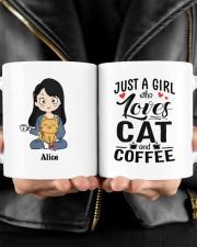 Cat And Coffee DD010603MA Customize Name Mug ceramic-mug-lifestyle-24