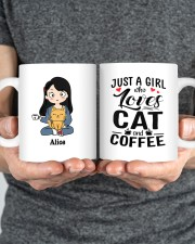 Cat And Coffee DD010603MA Customize Name Mug ceramic-mug-lifestyle-34