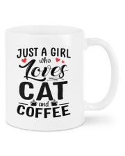 Cat And Coffee DD010603MA Customize Name Mug front
