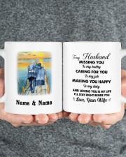 To My Husband DD012644MA Customize Name Mug ceramic-mug-lifestyle-32