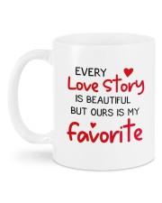 Love Story DD011410NA Customize Name Mug back