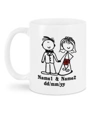 Love Story DD011303MA Customize Name Mug back