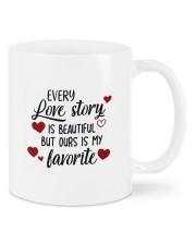 Love Story DD011303MA Customize Name Mug front