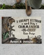 "A Grumpy Veteran DD010712NA Doormat 34"" x 23"" aos-doormat-34-x-23-lifestyle-front-01"