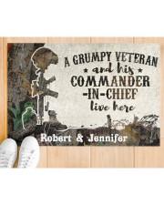 "A Grumpy Veteran DD010712NA Doormat 34"" x 23"" aos-doormat-34-x-23-lifestyle-front-03"