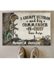"A Grumpy Veteran DD010712NA Doormat 34"" x 23"" aos-doormat-34-x-23-lifestyle-front-04"