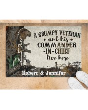 "A Grumpy Veteran DD010712NA Doormat 34"" x 23"" aos-doormat-34-x-23-lifestyle-front-05"