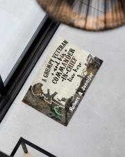 "A Grumpy Veteran DD010712NA Doormat 34"" x 23"" aos-doormat-34-x-23-lifestyle-front-08"