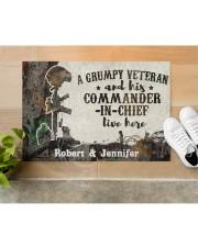 "A Grumpy Veteran DD010712NA Doormat 34"" x 23"" aos-doormat-34-x-23-lifestyle-front-12"