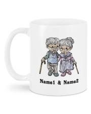 From Your Husband DD011309MA Customize Name Mug back