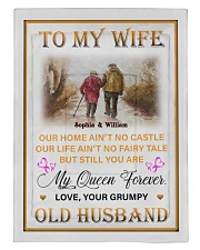 To My Wife DD011615MA Blanket Customize Name Comforter tile