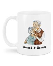 From Your Husband DD011310MA Customize Name Mug back
