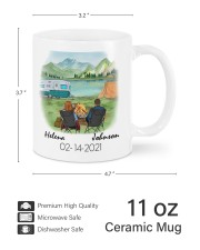 Campsite DD010510DH02 Mug Customize Name Mug ceramic-mug-lifestyle-62