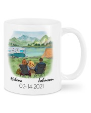 Campsite DD010510DH02 Mug Customize Name Mug front