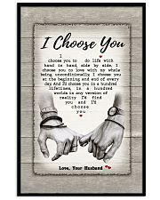 I Choose You 301205HD Customize Name Vertical Poster tile