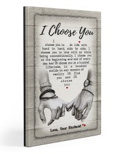 I Choose You 301205HD Customize Name Gallery Wrapped Canvas Prints tile