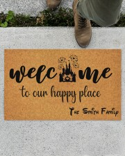 """To Our Happy Place DD123113MA Doormat 28"""" x 17"""" aos-doormat-28-x-17-lifestyle-front-01"""