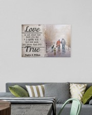 True Love DD010401MA Customize Name 24x16 Gallery Wrapped Canvas Prints aos-canvas-pgw-24x16-lifestyle-front-16