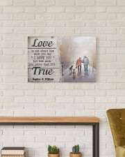 True Love DD010401MA Customize Name 24x16 Gallery Wrapped Canvas Prints aos-canvas-pgw-24x16-lifestyle-front-17
