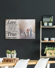 True Love DD010401MA Customize Name 24x16 Gallery Wrapped Canvas Prints aos-canvas-pgw-24x16-lifestyle-front-19