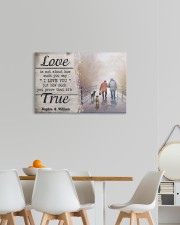 True Love DD010401MA Customize Name 24x16 Gallery Wrapped Canvas Prints aos-canvas-pgw-24x16-lifestyle-front-20