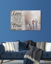 True Love DD010401MA Customize Name 24x16 Gallery Wrapped Canvas Prints aos-canvas-pgw-24x16-lifestyle-front-21
