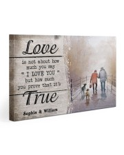 True Love DD010401MA Customize Name Gallery Wrapped Canvas Prints tile