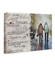 Once Upon A Time DD010406DH01 Customize Name 24x16 Gallery Wrapped Canvas Prints front