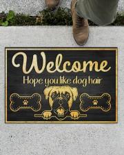 "Dog hair 2912NA Doormat 34"" x 23"" aos-doormat-34-x-23-lifestyle-front-01"