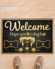 "Dog hair 2912NA Doormat 34"" x 23"" aos-doormat-34-x-23-lifestyle-front-02"