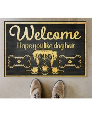 "Dog hair 2912NA Doormat 34"" x 23"" aos-doormat-34-x-23-lifestyle-front-04"