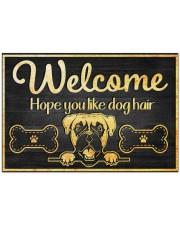 """Dog hair 2912NA Doormat 34"""" x 23"""" front"""