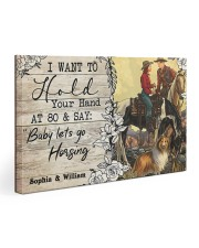 Horsing Customize Name Gallery Wrapped Canvas Prints tile